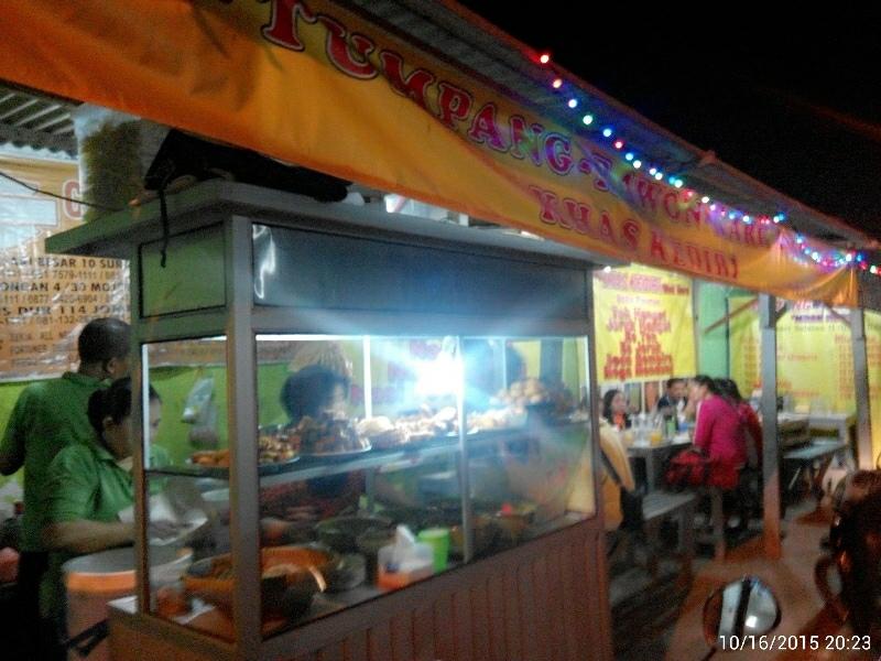 pecel tumpang kediri ibu Nurul kutisari selatan 2