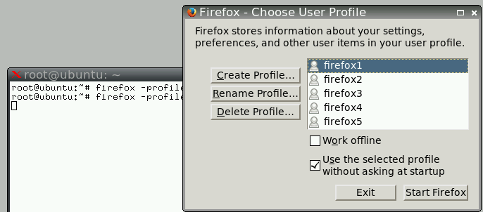 profile manager firefox