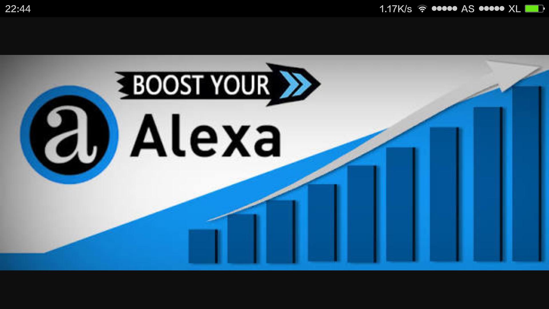 jual traffic meningkatkan ranking alexa